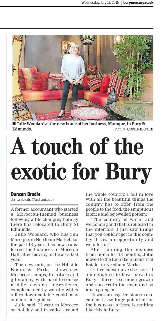 Maroque coverage in Bury Mercury-page cropped